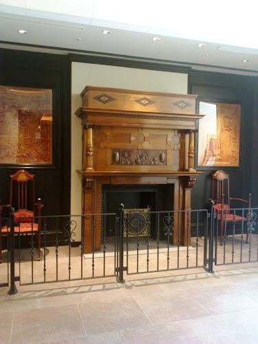 ホテルモントレ グラスミア大阪 暖炉
