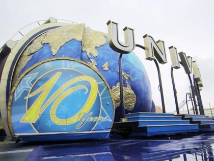 10周年記念のUSJ