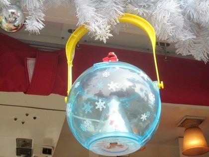 クリスマスのポップコーン・バケツ