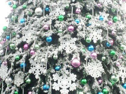 USJのクリスマスツリー