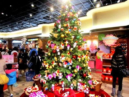 クリスマスツリー ユニバーサル・スタジオ・ストア