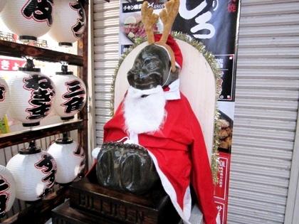 ビリケンさん クリスマス