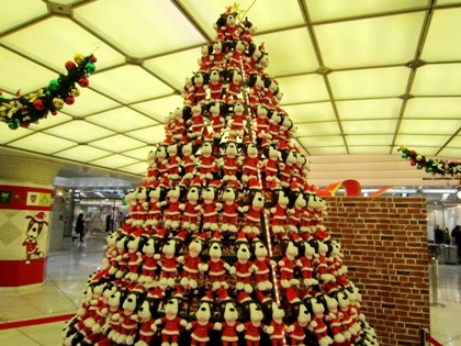 クリスマスツリー くじらパーク