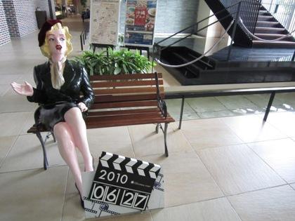 映画スターと記念撮影 ホテルユニバーサルポート