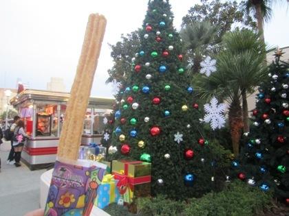チュリトス USJのクリスマス風景