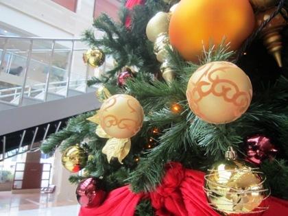 ホテル京阪ユニバーサルタワーのクリスマスツリー
