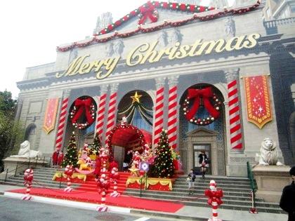 フィンランド・サンタクロース・ハウス USJのクリスマス風景