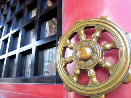 四天王寺の転法輪