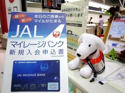 JALマイレージバンク入会申込