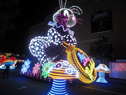 白ウサギ マジカル・スターライト・パレード