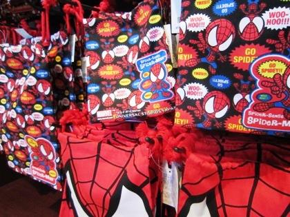 スパイダーマンの巾着袋