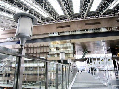 大阪ステーションシティの時空の広場