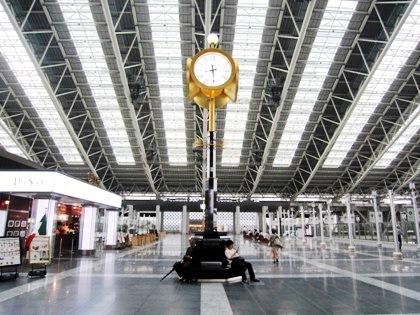 大阪ステーションシティの待ち合わせ場所 時空の広場