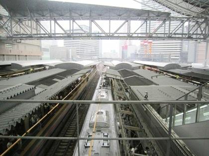 JR大阪駅の列車 大阪ステーションシティ
