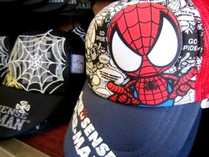 スパイダーマンの帽子