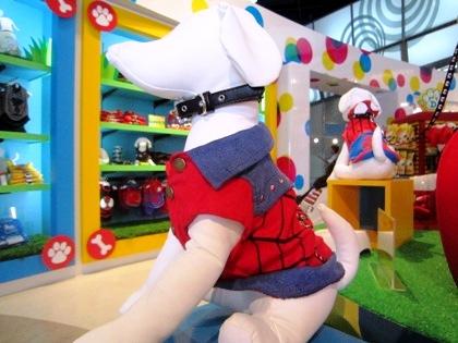ペット用品 スパイダーマンの服