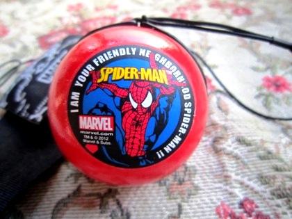 スパイダーマンのヨーヨーボール