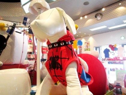 スパイダーマンのペット用品