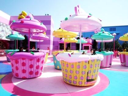 ハローキティのカップケーキ・ドリーム ユニバーサル・ワンダーランド