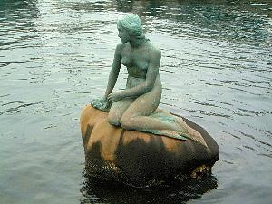 マーメイド像 天保山の歴史