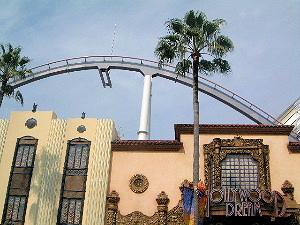 ハリウッド・ドリーム・ザ・ライドのレール