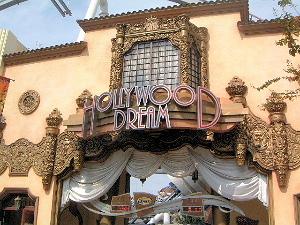 ハリウッド・ドリーム・ザ・ライドの正面入口