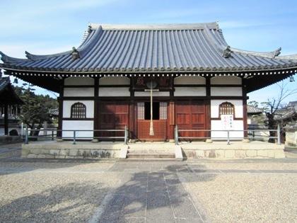 野中寺本堂
