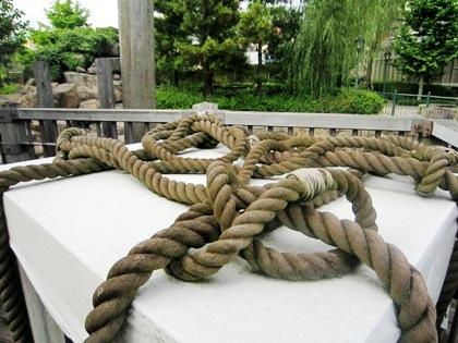 ロープ ラグーンの風景