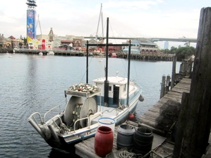 船 ラグーンの風景