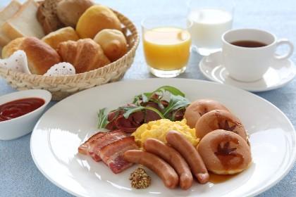 ホテルユニバーサルポートの朝食