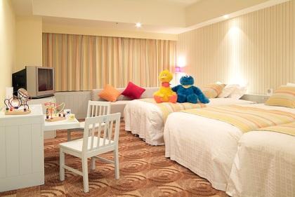 ホテルユニバーサルポートのファミリールーム 客室 宿泊予約