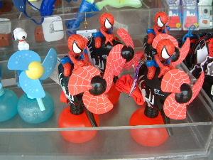 スパイダーマンの扇風機